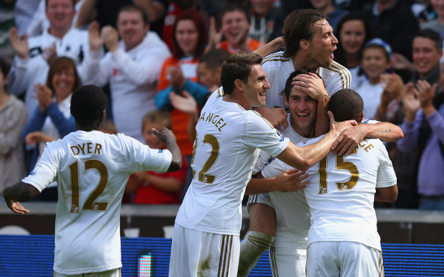 Swansea Nathan Dyer + Angel Rangel + Michu + Danny Graham + Wayne Routledge