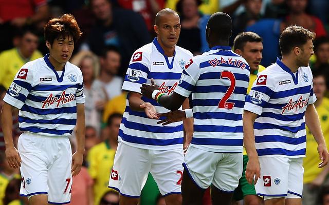 QPR Park Ji-Sung + Bobby Zamora + Samba Diakite