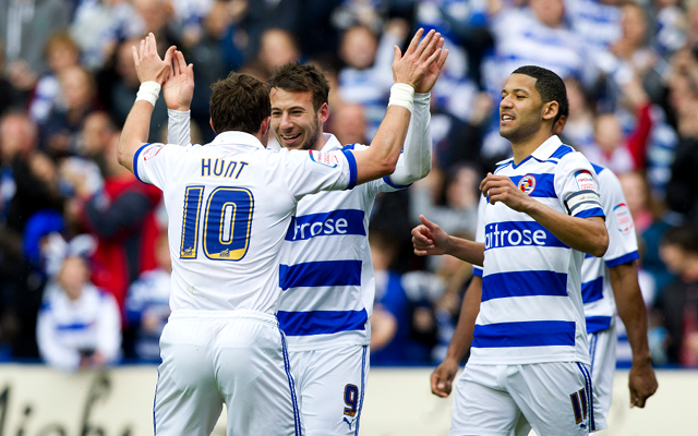 Reading Noel Hunt + Adam Le Fondre + Jobi McAnuff