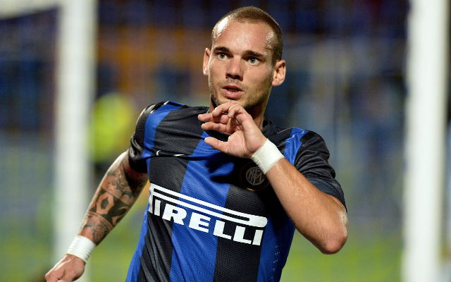 Private: (Image) Inter Milan star Wesley Sneijder in Turkey ahead of Galatasaray switch