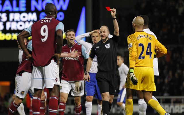 Private: Carlton Cole and Darron Gibson win red card appeals