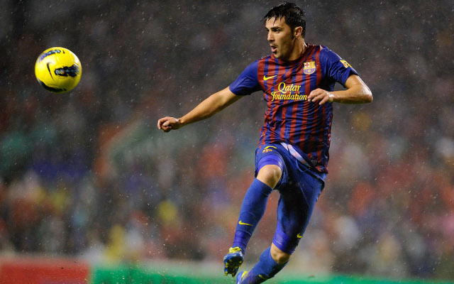 David Villa Barcelona 2