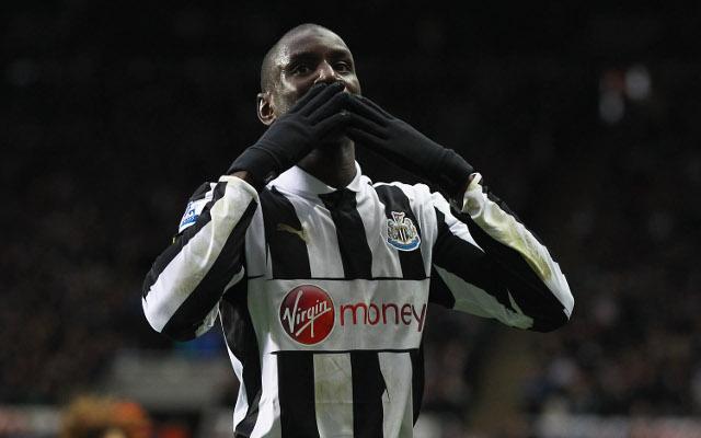 Demba Ba Newcastle United 1
