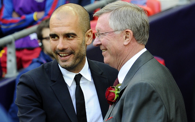Ferguson + Guardiola