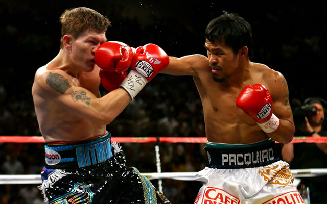 Boxing news: Ricky Hatton couldn't recognise celeb couple after Manny Pacquiao knock-out
