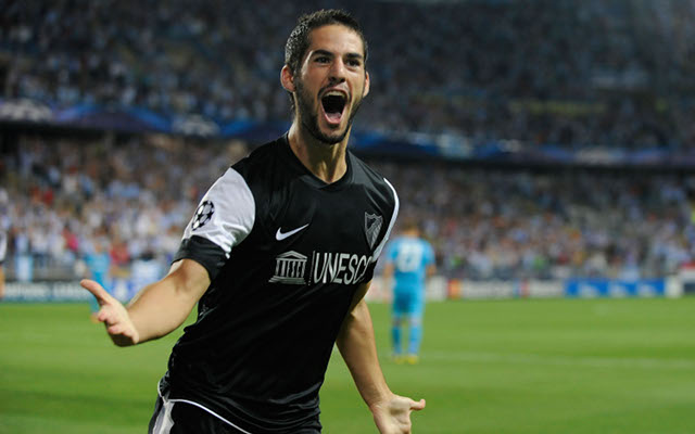 Manchester City offer Malaga star Isco four year deal to sign with Pellegrini