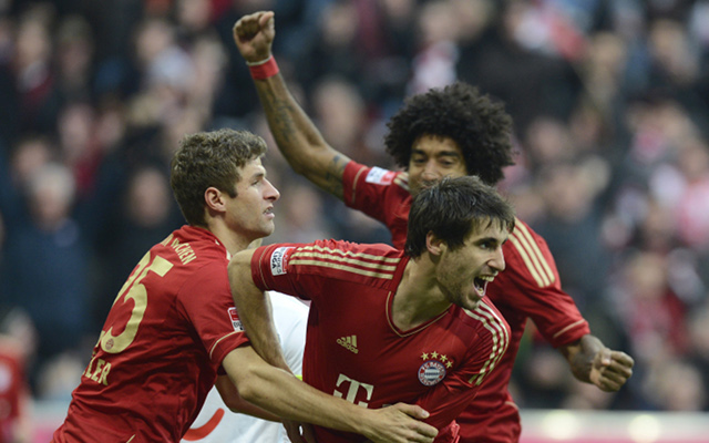 Javi Martinez to be fit for Bayern Munich for Arsenal clash