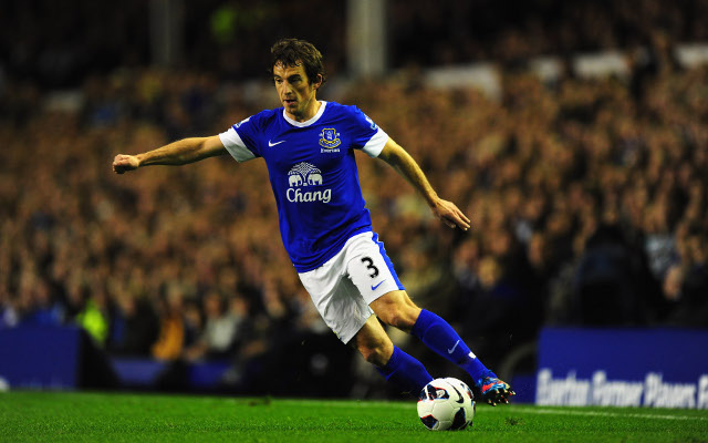 Private: (Video) Leighton Baines scores stunner for Everton against West Brom