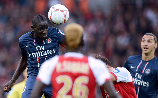 Private: Man City tracking PSG centre-back Mamadou Sakho
