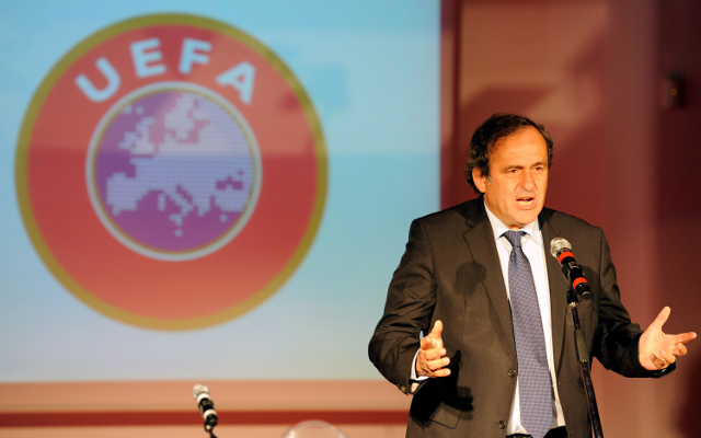UEFA chief Michel Platini wary of three dangers that are troubling football right now