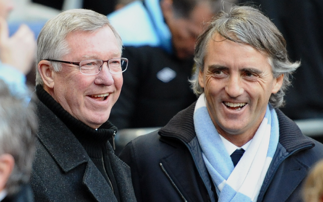 "Manchester United boss Sir Alex Ferguson ""amazed"" by Roberto Mancini sacking"