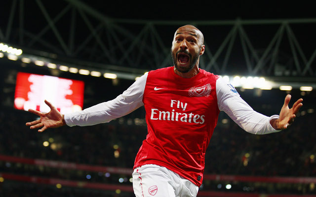(Image) Crazed Arsenal fan gets insanely intense Thierry Henry tattoo