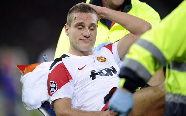 Nemanja Vidic gives Manchester United fitness boost