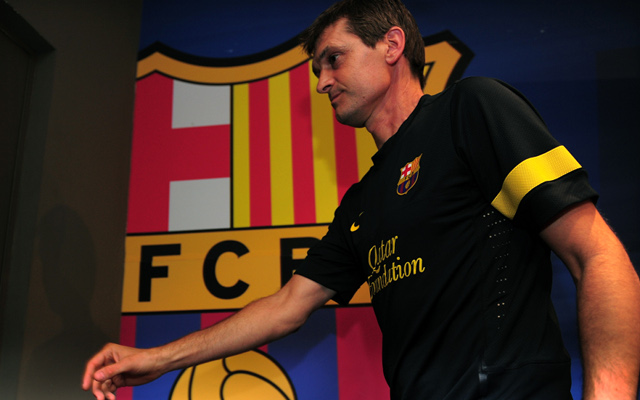 Barcelona boss Tito Vilanova returns to Spain after cancer treatment in the US