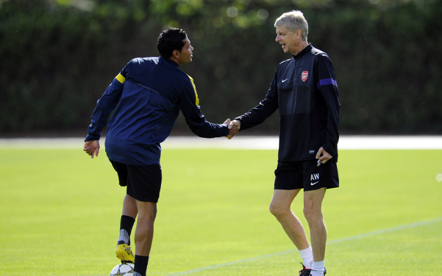 Arsenal flop Andre Santos insists he has a future at the Emirates Stadium