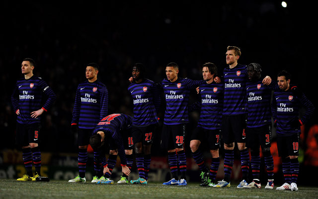 Private: Arsenal will learn from Bradford upset says Koscielny