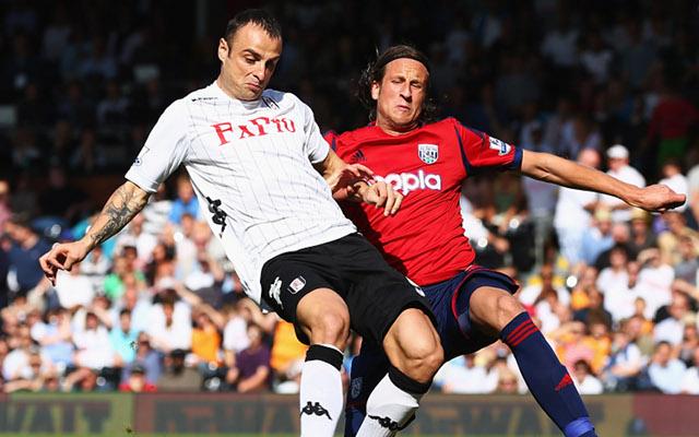 Berbatov Fulham Olsson West Brom