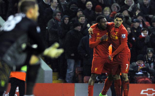 Daniel Sturridge Luis Suarez Liverpool