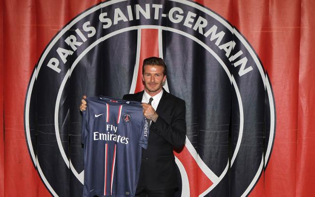 Beckham vs Barton: Former England captain set for PSG debut against Marseille on Sunday