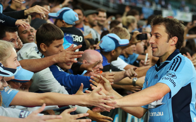 (Video) Alessandro Del Piero wins Sydney Player of the Year award