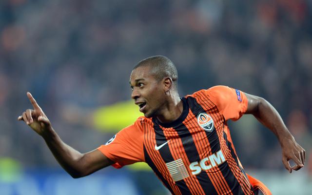 (Video) Shakhtar star Fernandinho scores cracking golazo in Ukrainian league
