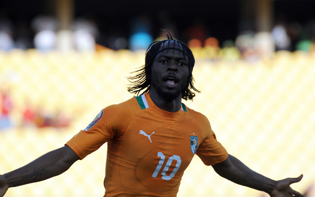 (Video) Arsenal star Gervinho beats four players with skill for Ivory Coast goal