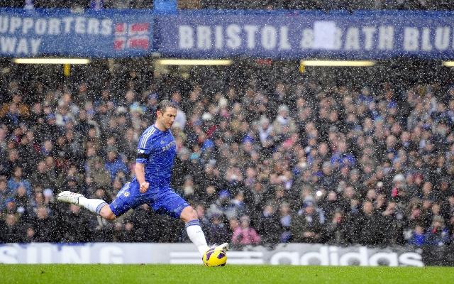 Lampard shot Chelsea