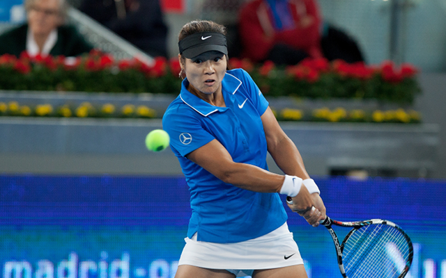 Private: (Video) Li Na hits worst tennis serve in history at Australian Open… but wins match