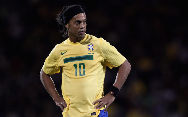 Private: Ronaldinho surprised by Brazil recall