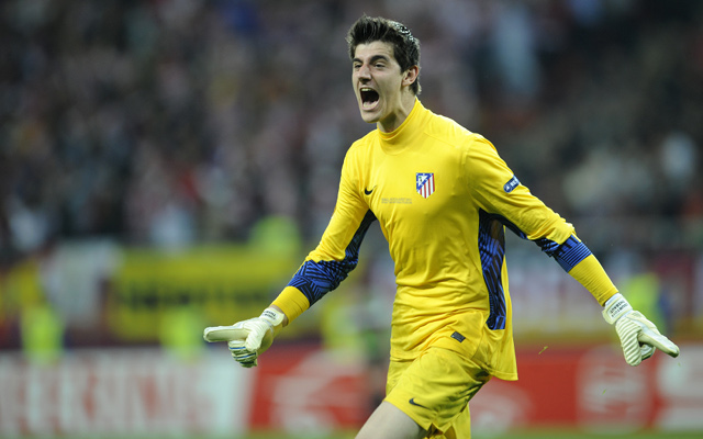Thibaut Courtois Atletico Madrid