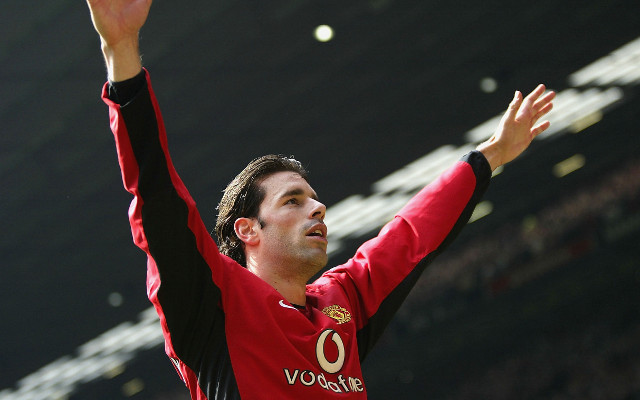 Van nistelrooy manchester united