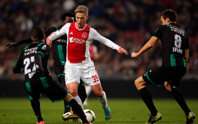 Private: (Video) Latest Ajax wonderkid Viktor Fischer destroys Feyenoord