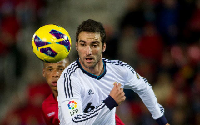 Gonzalo Higuain Real Madrid