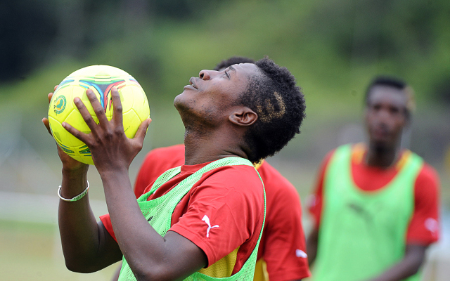 Private: (Video) Gyan hoping Ghana won't be paying the penalty