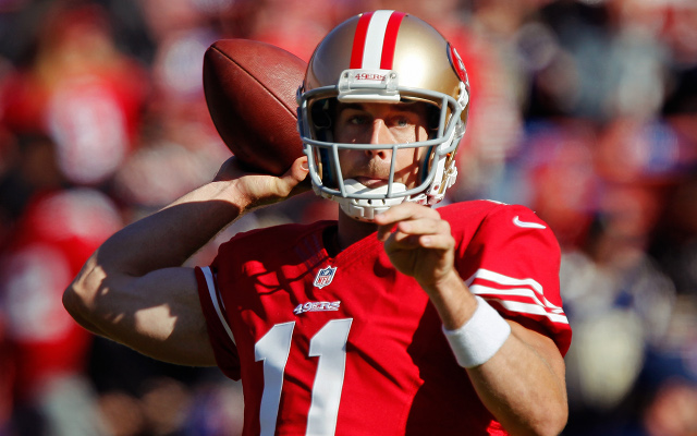 Michael Vick deal makes San Francisco 49ers QB Alex Smith gem of 2013 class