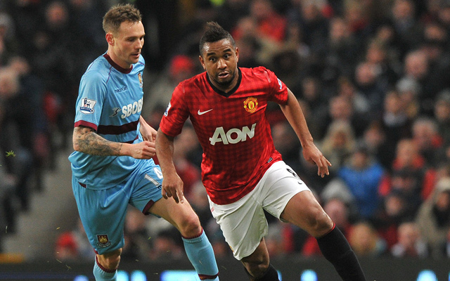 Anderson desperate to remain with Manchester United