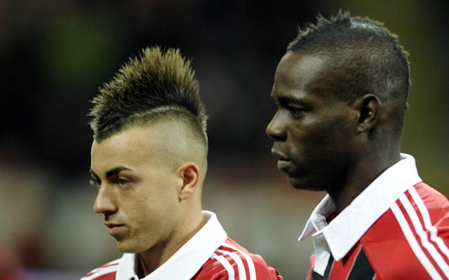 Mario Balotelli Stephan el Shaarawy AC MIlan