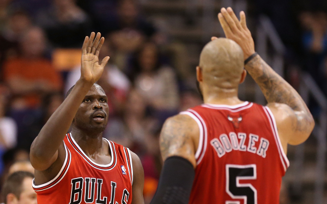 Chicago Bulls battle on as Luol Deng and Kirk Hinrich set to sit out