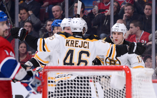 Private: Boston Bruins come from behind to beat Montreal Canadiens