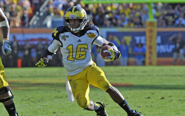 Denard Robinson remains the biggest enigma in the upcoming NFL Draft