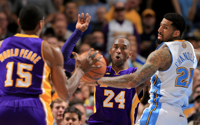 Ty Lawson helps Denver Nuggets beat LA Lakers 119-108