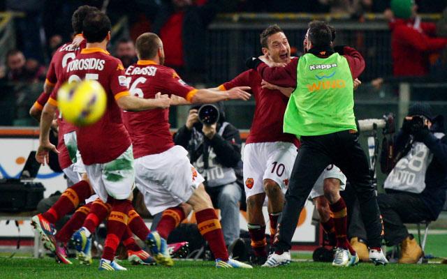 (Video) Francesco Totti's unstoppable screamer for Roma against Juventus