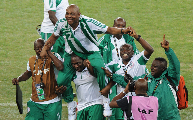 Nigeria coach Stephen Keshi warns home-based players there is 'no automatic shirt'