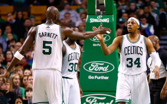 Boston Celtics begin rebuilding process as Kevin Garnett and Paul Pierce depart