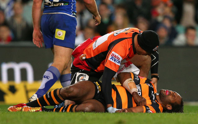 Wests Tigers winger Lote Tuqiri ruled out for further 3 months