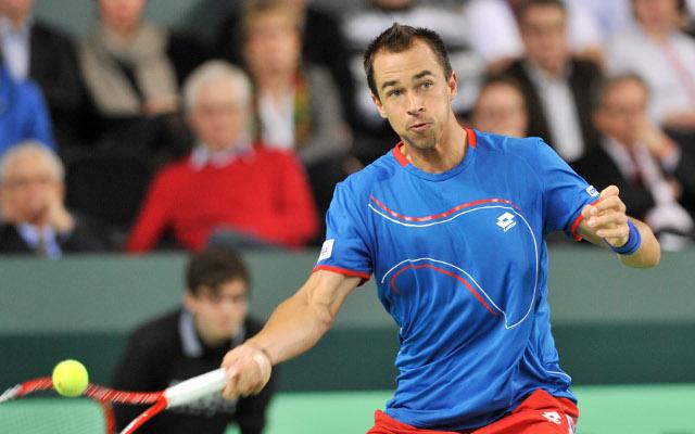 Private: (Video) Lukas Rosol hits tennis shot of the year with 'tweener' against Stanislas Wawrinka