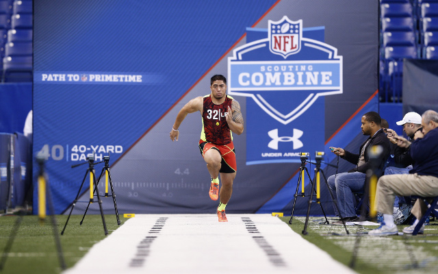 "NFL prospect Manti Te'o says he can ""obviously"" run faster at pro day"