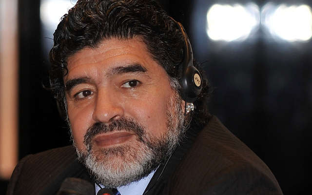 'Hand of God' delivered Argentine pope: Maradona