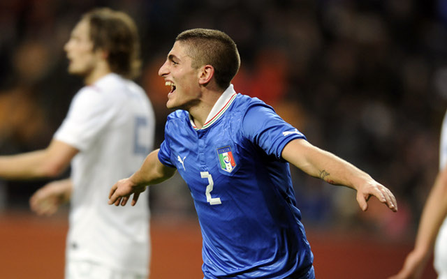 Private: (GIF) PSG star Marco Verratti's brilliant interception for Italy against the Netherlands