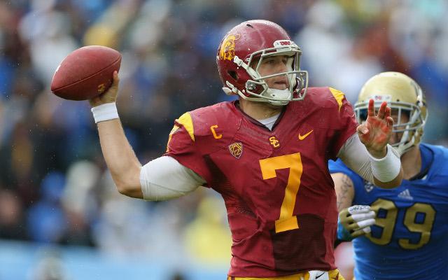 USC Quarterback Matt Barkley will not throw at NFL Combine due to shoulder issues